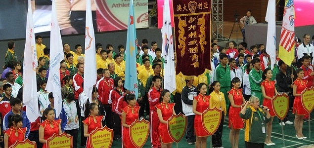 2012 – Chin Woo World Wushu Tournament Open Ceremony